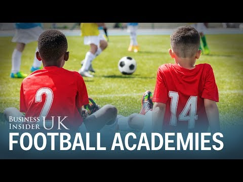This shocking statistic shows why most children at football academies won