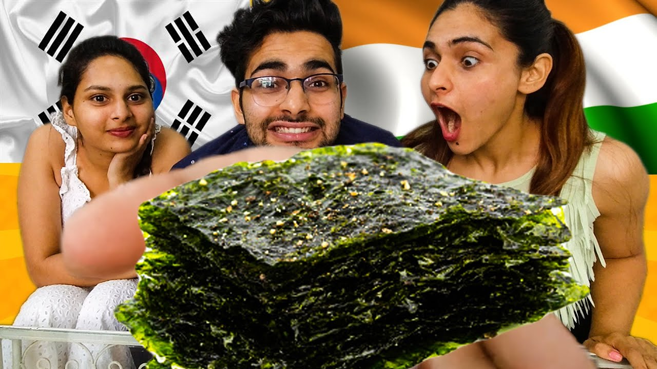 Download 🇮🇳 INDIAN'S TRYING KOREAN SNACKS 🇰🇷 || It Tastes Like ...... 😱