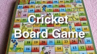 Cricket Board Game