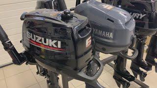 yamaha F6 и Suzuki DF6. Обзор и сравнение шестисильных лодочных моторов
