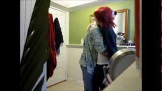 pregnancy test april fools prank on boyfriend