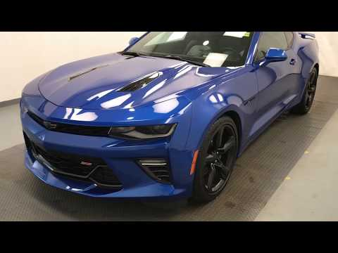 Blue 2017 Chevrolet Camaro 2SS Review lethbridge ab - Davis GMC Buick Lethbridge Appraisal Grid