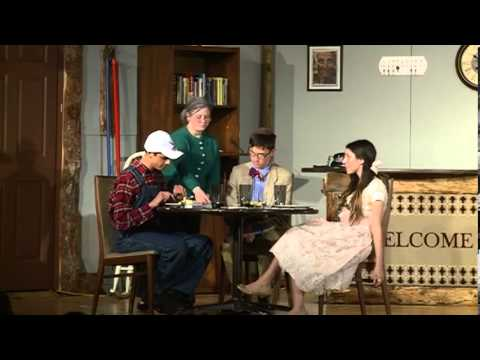 """""""The Foreigner"""" a Frisch Drama Society production"""