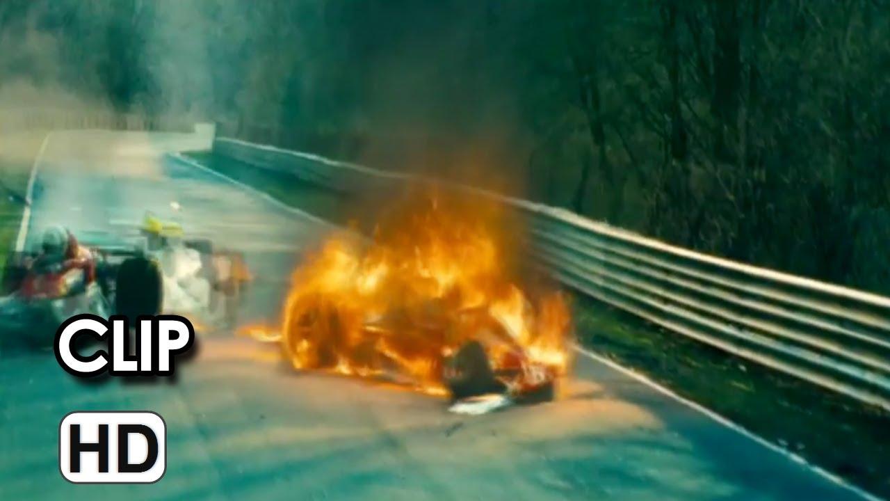 Rush Clip italiana Ufficiale 'Incidente Lauda' (2013 ...