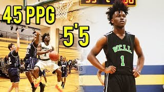 5'5 16 Year Old Is Leading The Country in Scoring and Dropped 70 Points TWICE!!