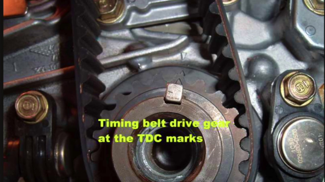 small resolution of 2001 05 honda civic timing procedure d series engines