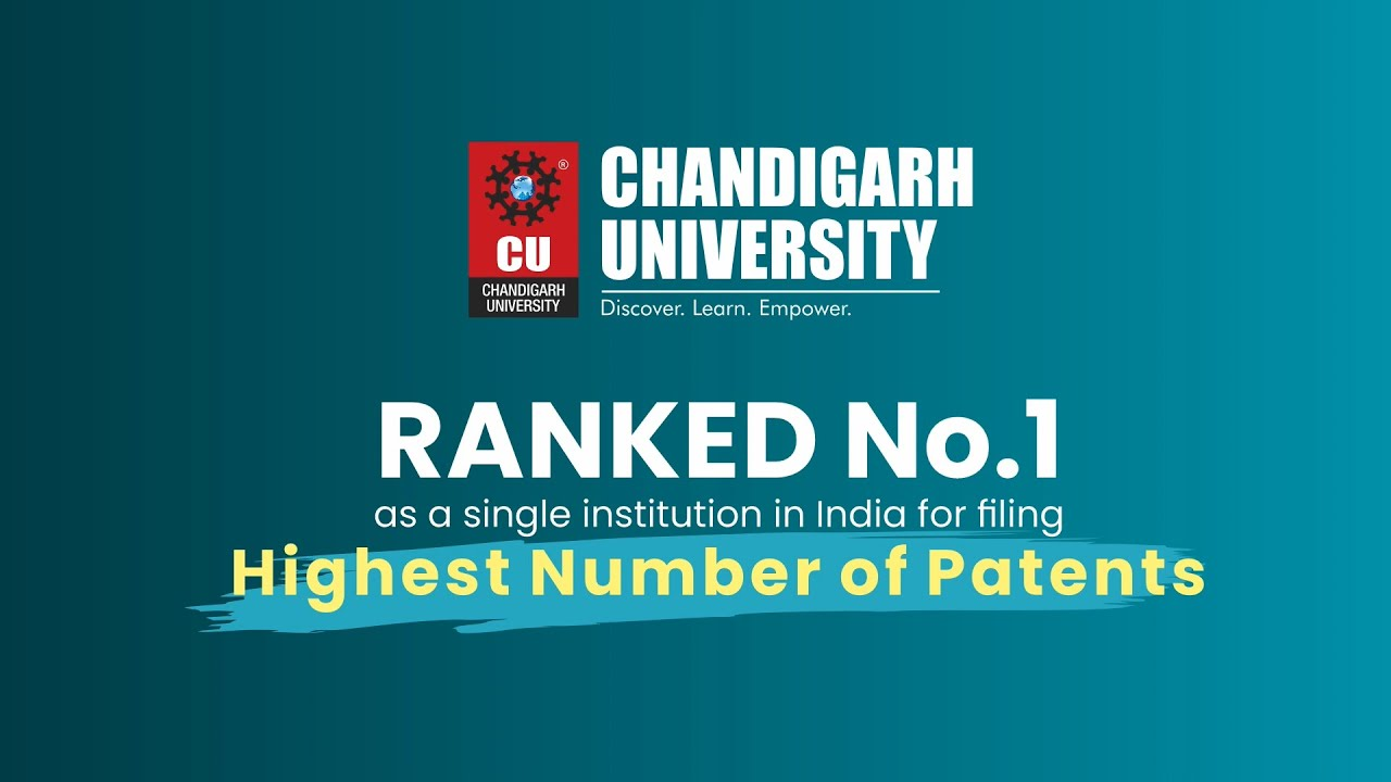 CU bags 1st rank for filling highest number of patents in a year in India become as stand-alone institution