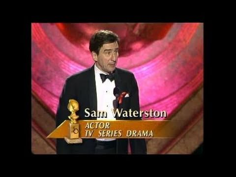 Sam Waterston Wins Best Actor TV Series Drama - Golden Globes 1993