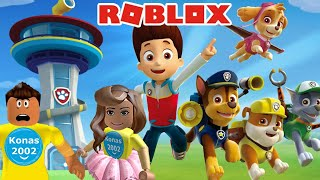 ROBLOX PAW PATROL LOOKOUT TOWER ESCAPE ! || Roblox Gameplay || Konas2002