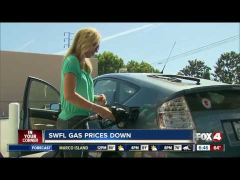 Florida gas prices on the decline