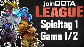 Dota 2 Team-Gameplay #2: Bristleback (German) - jD League Spieltag 1 Game 1/2