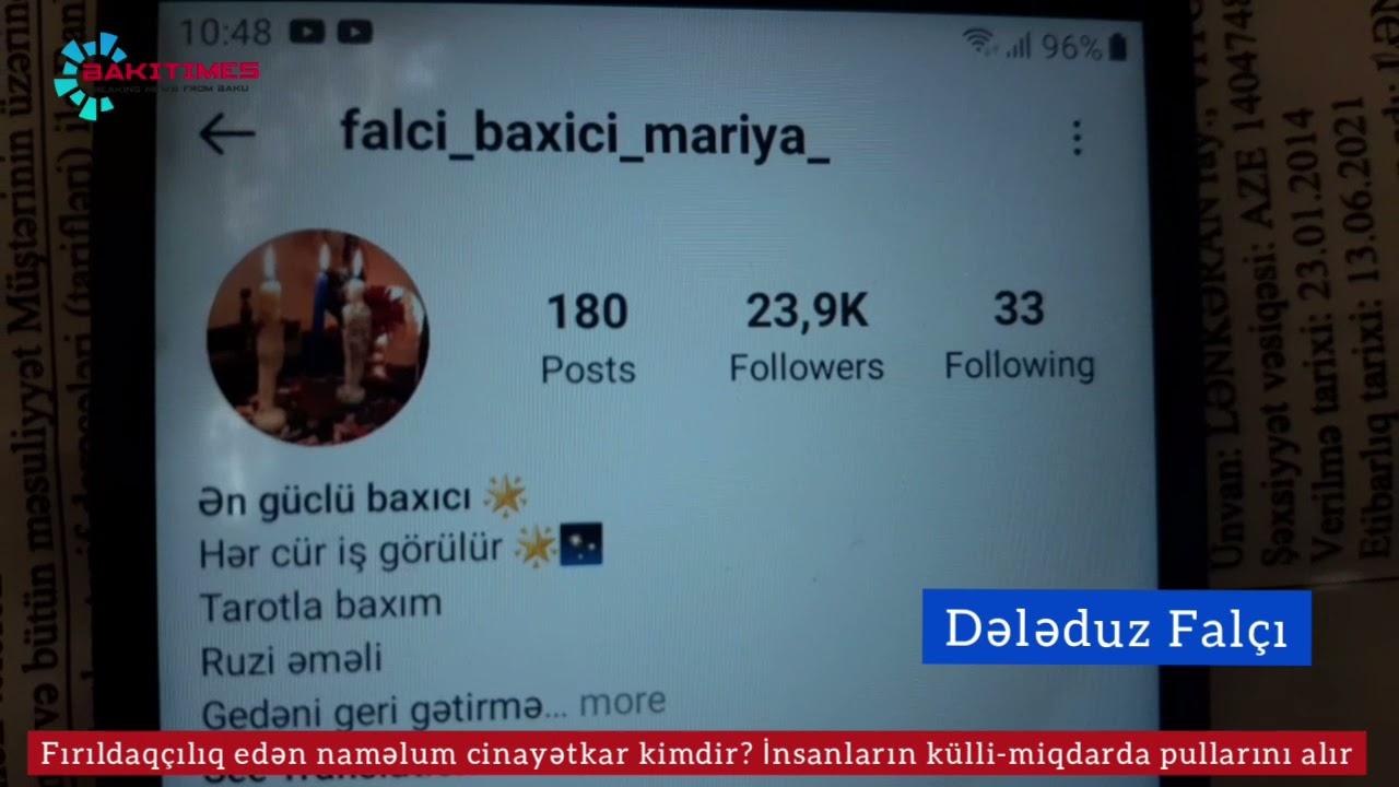 """""""Maşennik"""" falçı ifşa olundu- BİABIRÇILIQ"""