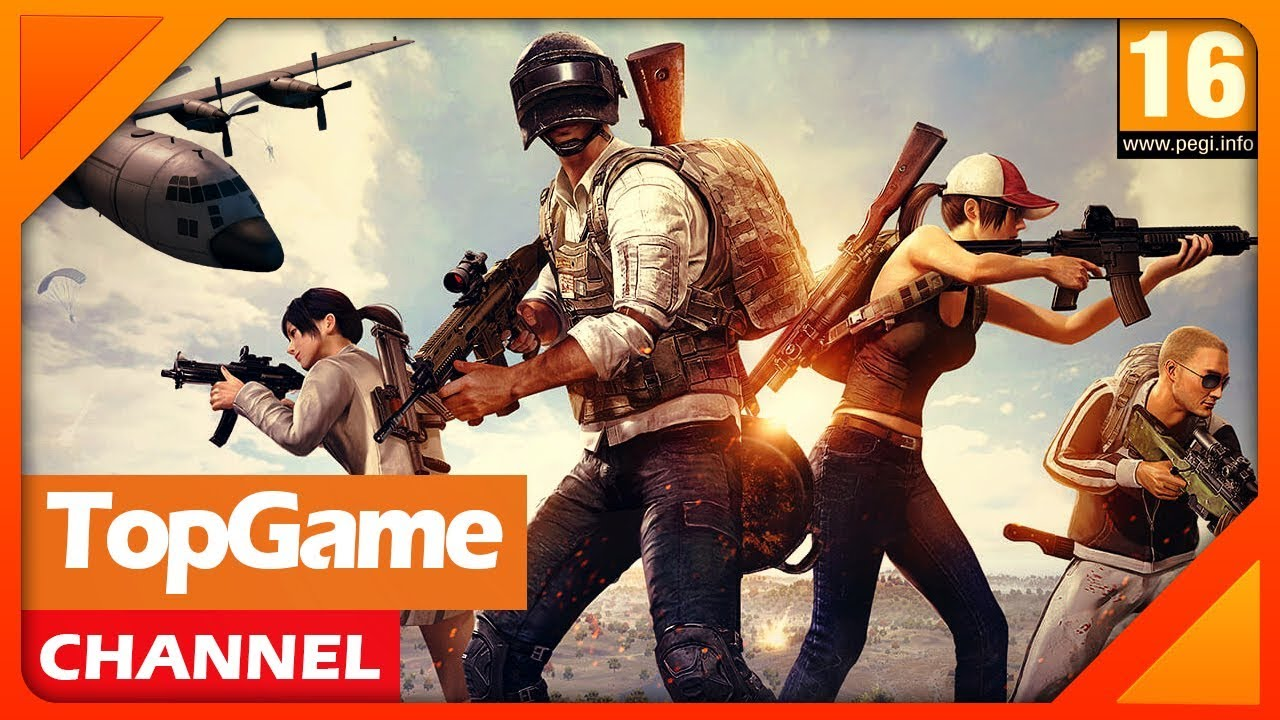 [Topgame] Top 7 game PUBG mobile miễn phí hay nhất hiện tại 2018 | Android-IOS