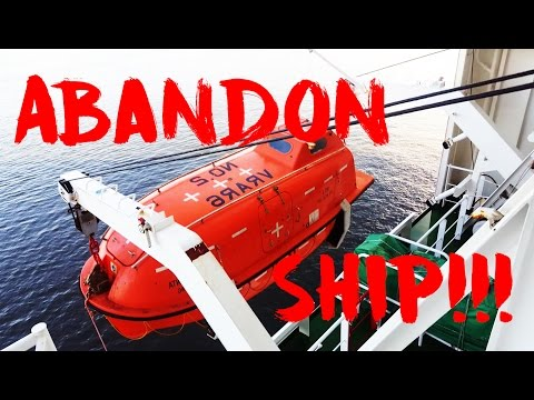 Lifeboats - What Equipments Inside? Launching & How do they