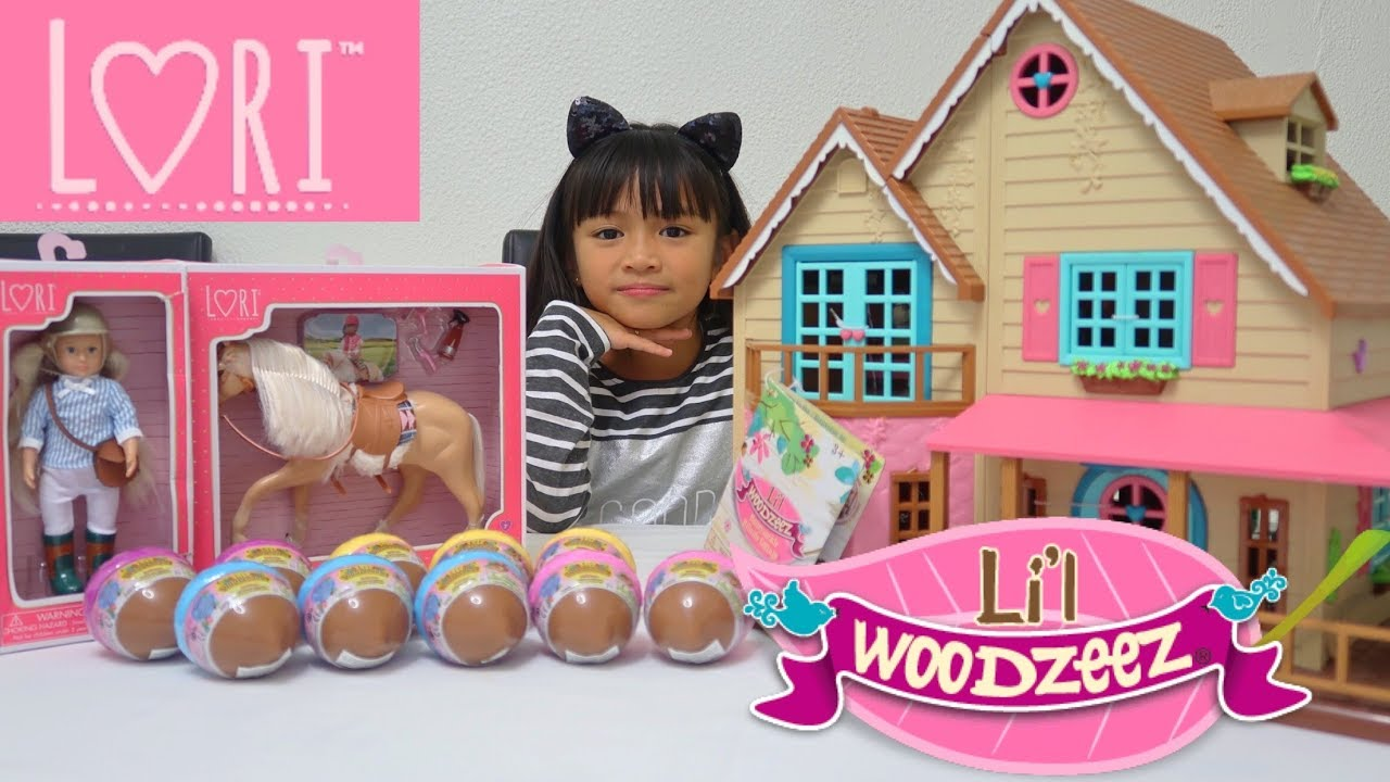 d73629c89acd Lil Woodzeez and Lori Dolls Battat Toys from Smyths Toys Superstore ...