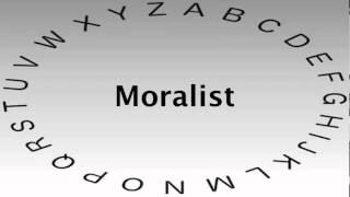 SAT Vocabulary Words and Definitions — Moralist
