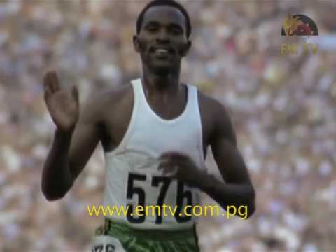 Keino Recieves Olympic Laurel Award