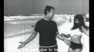 محمد رشدى و اغنية على الرمله من فيلم فرقة المرح