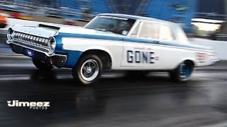 """COLOR ME GONE II"" '64 HEMI DODGE 330 NOSTALGIA SUPER STOCK"
