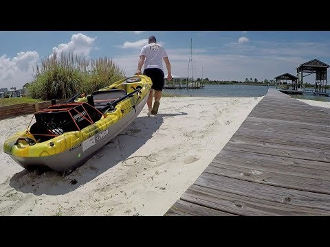 Pelican catch 100 overview and stability test