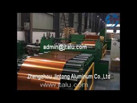Colored aluminum/prepainted aluminum/PE PVDF coated aluminum