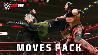 WWE 2K19 Moves Pack First Look & Details