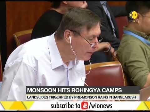 Landslide hits Rohingya refugee camps in Bangladesh, many killed