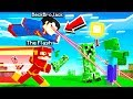Playing MINECRAFT As The STRONGEST SUPERHERO! overpowered