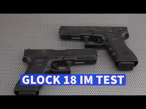 GLOCK 18: the fully automatic pistol in 9 mm Luger Caliber