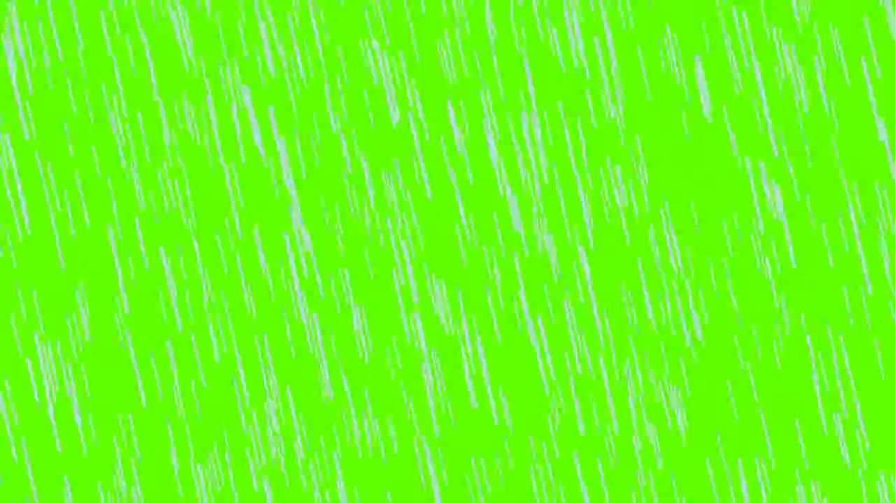 rain in green screen free stock footage