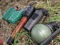 Paintball Grenade vs Czech Police Grenade vs Polenböller Granate