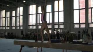 Спортивная гимнастика Бревно