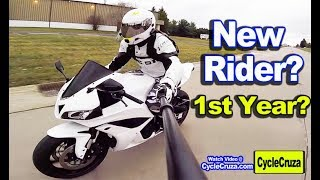 What To Expect Aṡ a New Motorcycle Rider for First Year