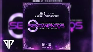 0 sentimientos  female version    jon z ft  joha m gee lali y chachy baby