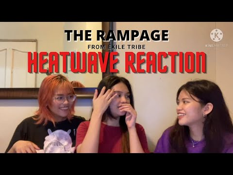 HEATWAVE – The Rampage from Exile Tribe Music Video Reaction   Philippines 🇵🇭