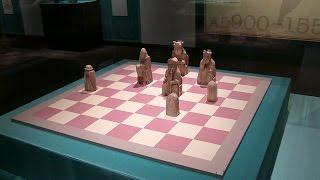 《ルイス島のチェス駒》大英博物館蔵 東京都美術館 大英博物館展