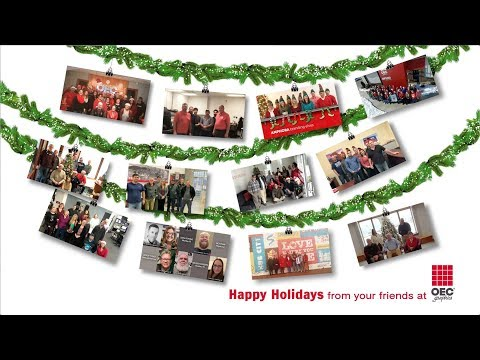 OEC Graphics Holiday Video 2018