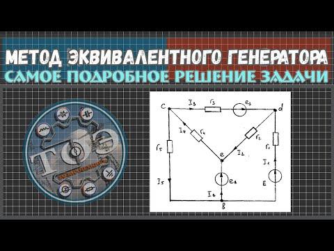 Метод эквивалентного генератора видеоуроки
