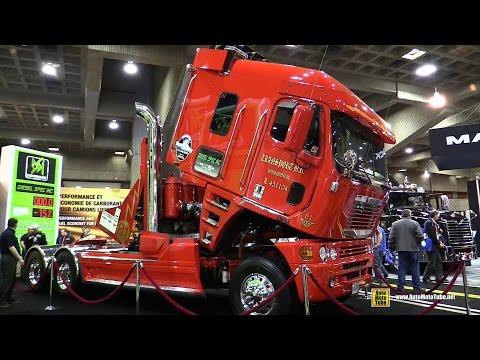 2009 Freightliner Argosy - 24 Cylinder 2600hp Truck - Walkaround - 2015 Expocam Montreal