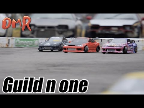 RC RWD DRIFTGuild n one その2 ReR HYBRID2駆リアルラジドリ