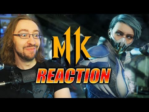MAX REACTS: Frost - Gameplay Trailer MK11