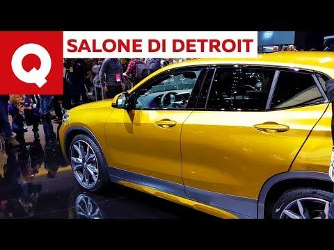 BMW X2: la sfida alla concorrenza parte da Detroit | Quattroruote