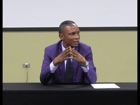 """Leadership"" with DRC Minister John Banza"