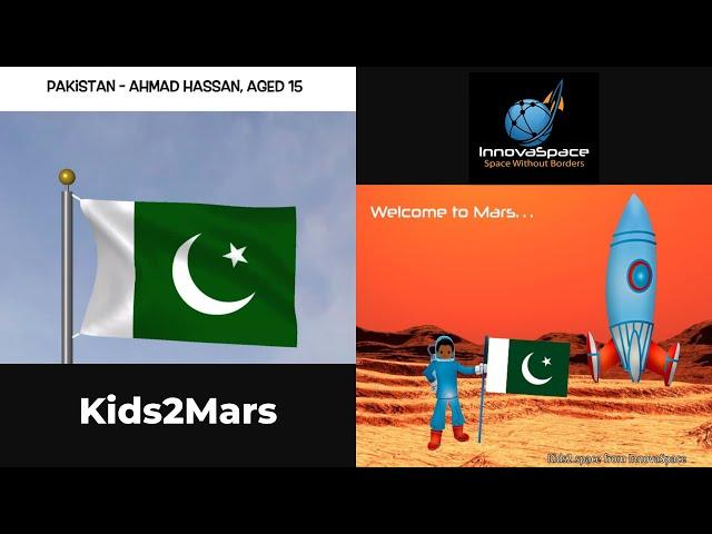 PT Kids2Mars   Pakistan - Como você faria a descontaminação da radiaçãoem Marte?
