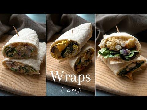 ▪-3-wrap-recipes- -vegan-&-easy