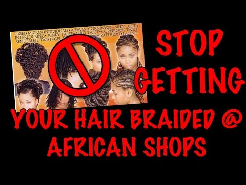 2016 | AFRICAN HAIR BRAIDING SHOP DAMAGED/PULLED MY HAIR OUT!