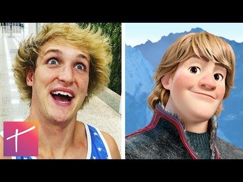 10 YouTubers Who Look EXACTLY Like Disney Characters