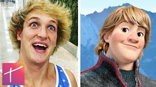 10 YouTubers Who Look EXACTLY Like Disney Characters