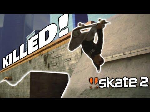 MONSTER GAP KILLED | Skate 2