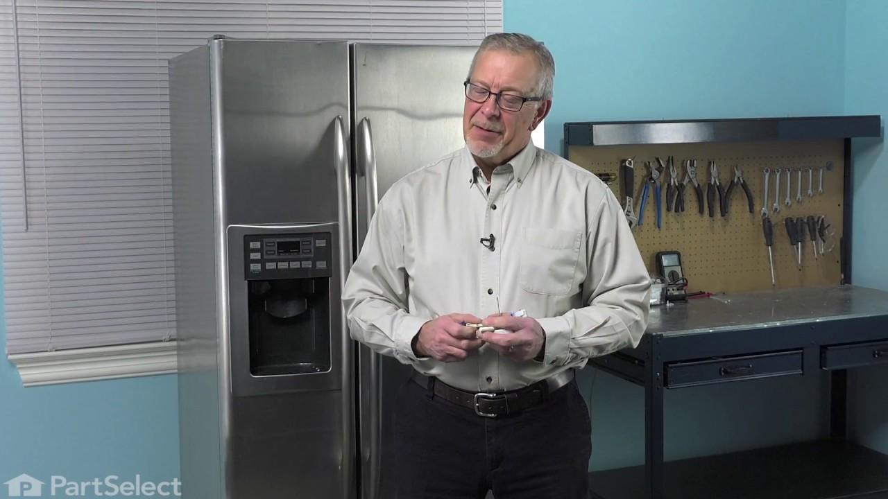 Ge Refrigerator Repair How To Replace The Evaporator Fan Motor